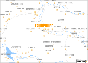 map of Tomapampa
