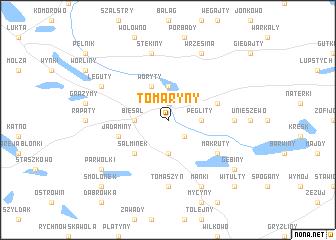 map of Tomaryny