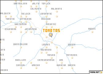 map of Tomatas