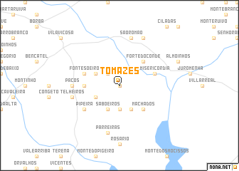 map of Tomazes