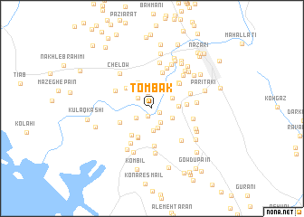 map of Tombak