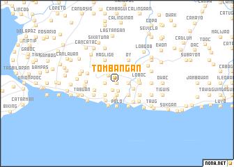 map of Tombangan