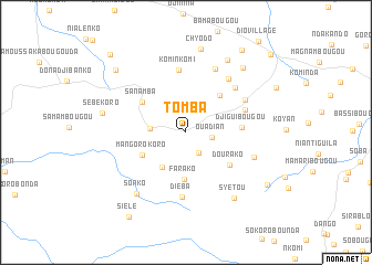 map of Tomba