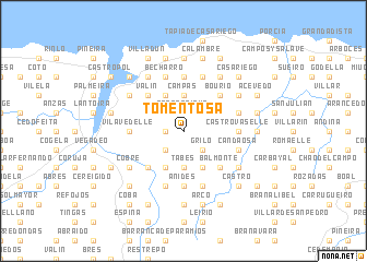 map of Tomentosa