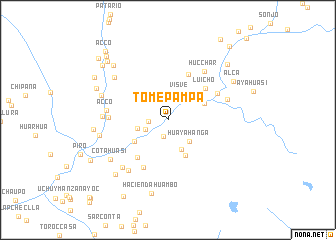 map of Tomepampa