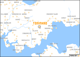 map of Tominhao