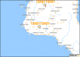 map of Tomoytomoy