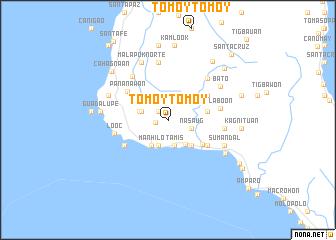 map of Tomoytomoy