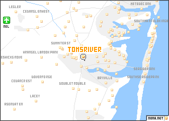 map of Toms River