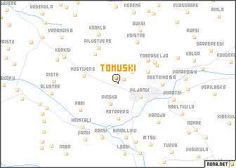 map of Tomuski