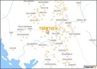 map of Tonb Tūch