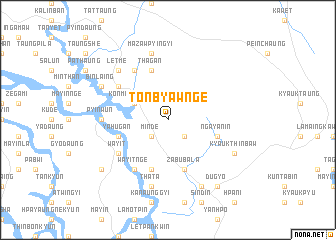 map of Tonbyawnge