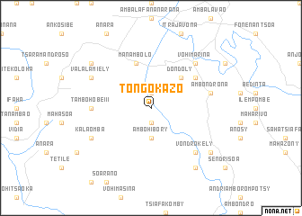 map of Tongokazo