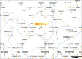 map of Tonoboyo