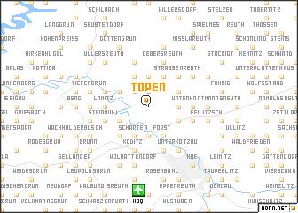 map of Töpen