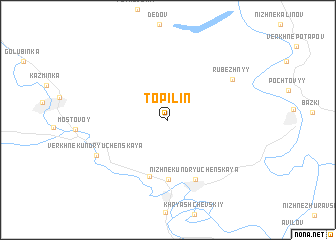map of Topilin