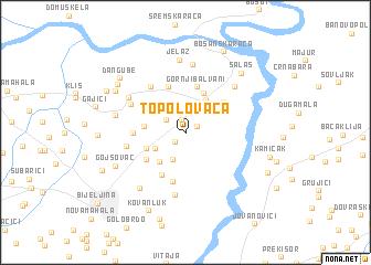 map of Topolovača