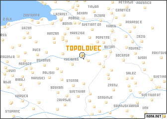 map of Topolovec
