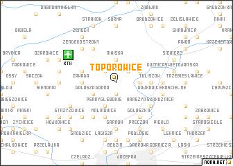 map of Toporowice