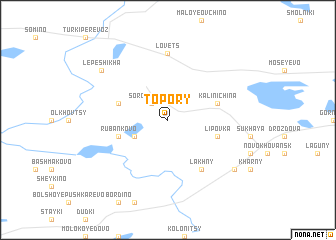 map of Topory