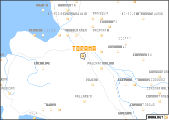 map of Torama