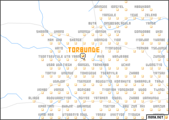 map of Torbunde