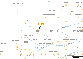 map of Torf