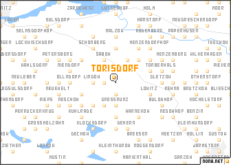 map of Torisdorf