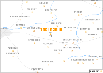 map of Torlopovo