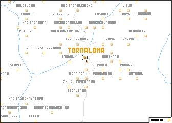 map of Tornaloma