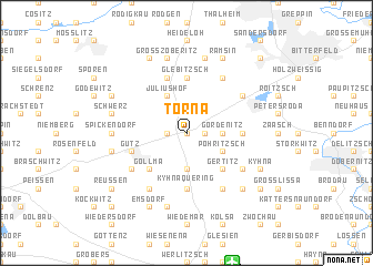map of Torna
