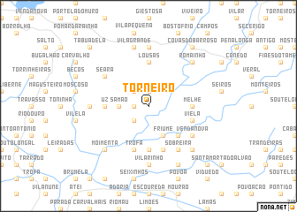 map of Torneiro