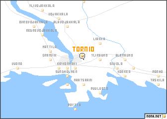 Tornio Finland map nonanet