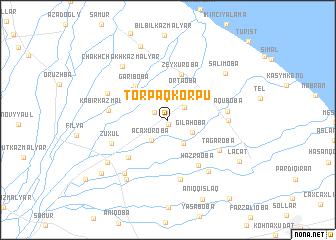 map of Torpaqkörpü