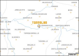 map of Torralba