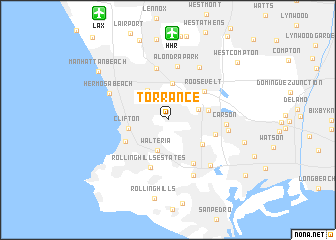map of Torrance