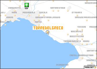 Torre del Greco Italy map nonanet