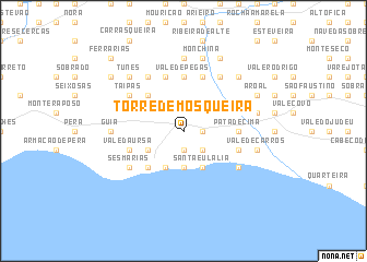 map of Torre de Mosqueira