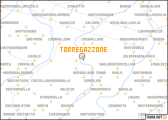 map of Torre Gazzone