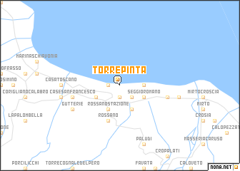 map of Torre Pinta