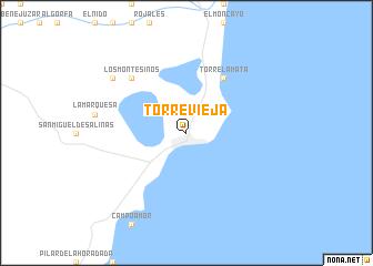 Torrevieja Spain Map Nona Net