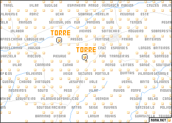 map of Torre