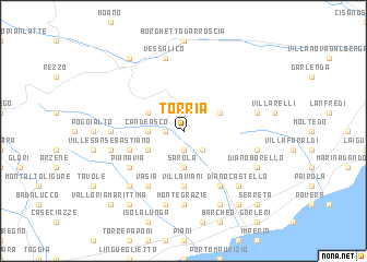 map of Torria