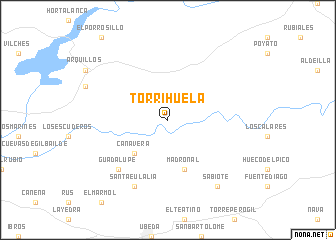 map of Torrihuela