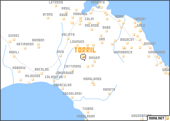 map of Torril