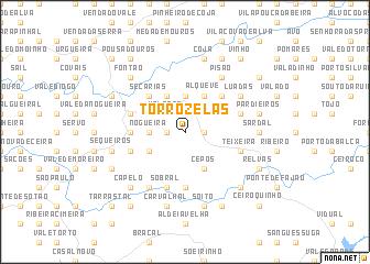 map of Torrozelas