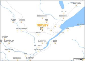 map of Torsby