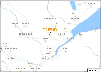 map of Torsby