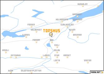 map of Torshus