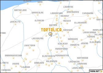 map of Tortolica